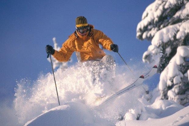 """Alpine Skiing at Bear Valley"""