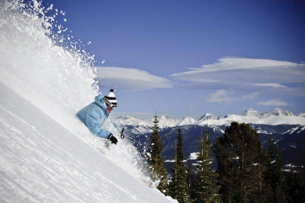 """Alpine Skiing at Breckenridge"""