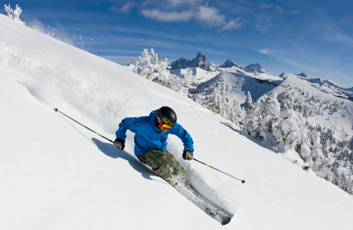 alpine skiing eldora mountain resort boulder colorado usa