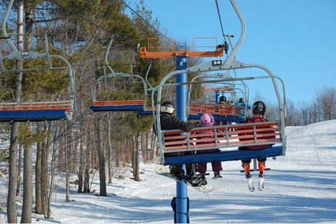 """""""Alpine Skiing at Mont Rigaud"""""""