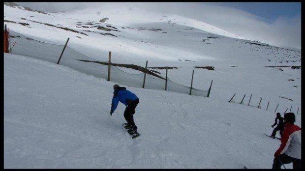 """Alto Campoo snowbloarding"""