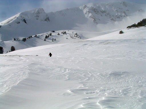 """Aneroid Lake, Cross Country Skiing"""