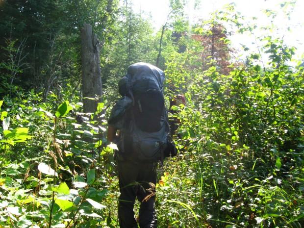 """Backpacking at Duck Lake"""