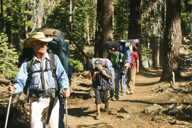 """""""Backpacking at Pinecrest Lake"""""""