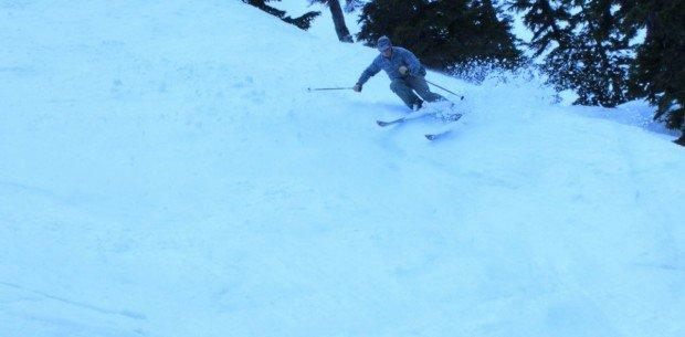 """Alpine Skiing at Badger Pass"""