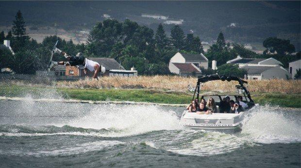 """Berg River, Cape Town Water Skiing"""