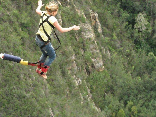 """""""Bloukrans Bridge Tsitsikamma Bungee Jumping"""""""