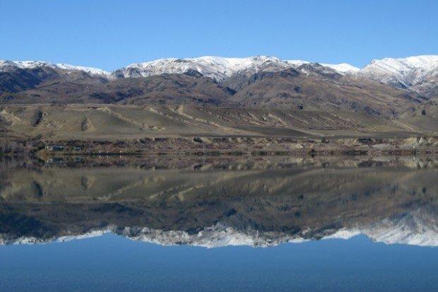 """""""Boat Ramp in Lake Dunstan"""""""