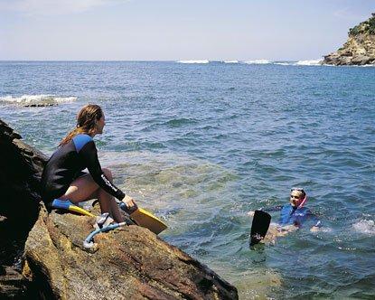"""Bondi Beach Snorkeling"""