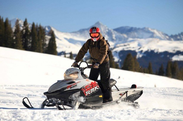 """Breckenridge Snowmobiling"""