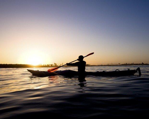 """""""Carpinteria State Beach Kayaker"""""""