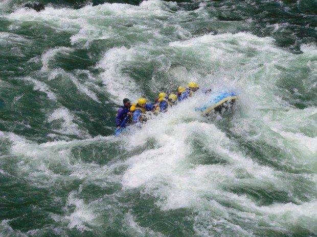 """Clackamas River, Rafting"""