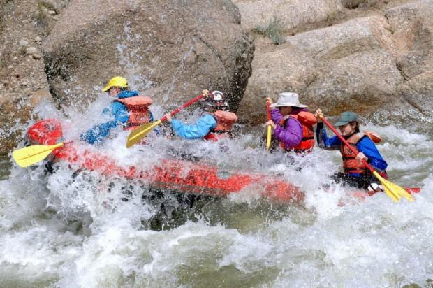 """Colorado River White Water Rafting"""