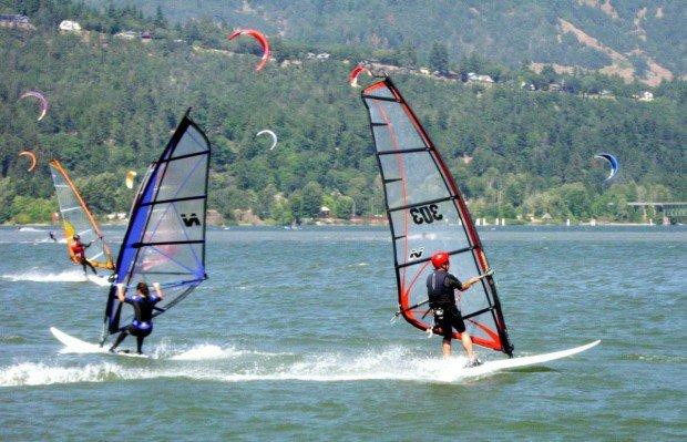 """Crescent City Harbor Wind Surfing"""