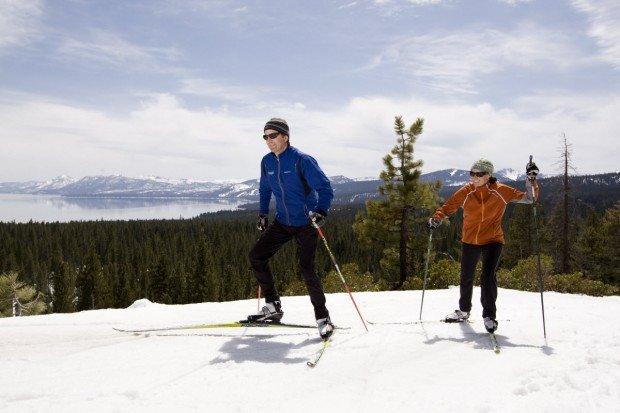 """Cross Country Skiing at Northstar"""
