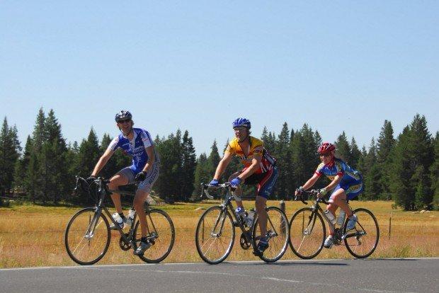 """""""Cycling at Bear Valley"""""""
