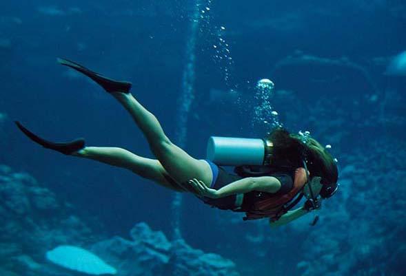 """Diving girl Spain"""
