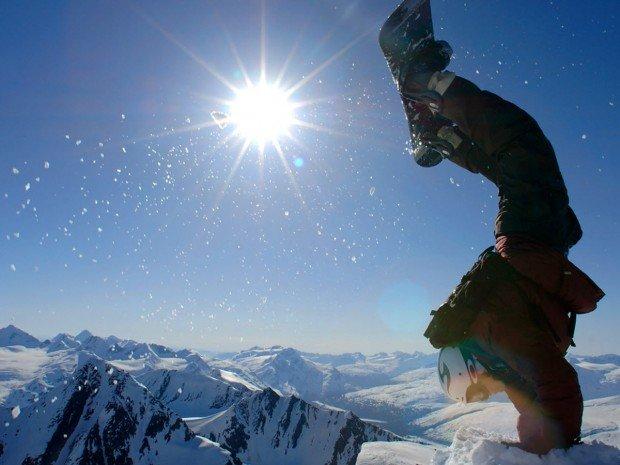 """""""Dodge Ridge Ski Resort Snowboarder"""""""