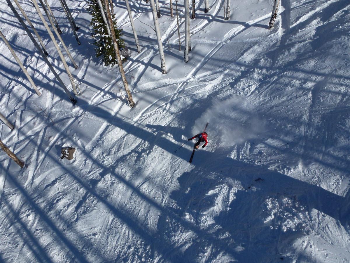 cross country skiing eldora mountain resort boulder colorado usa