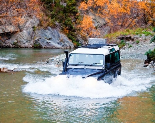 """""""Four wheel driving at Arrowtown"""""""