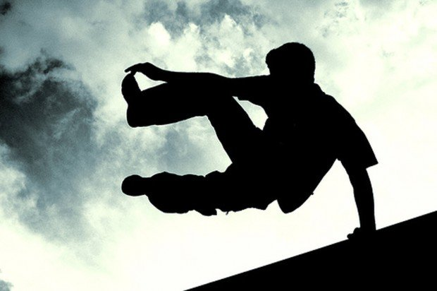 """Free Running jumping"""