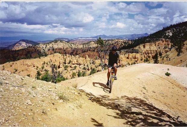 """Herring Creek Mountain Biker"""