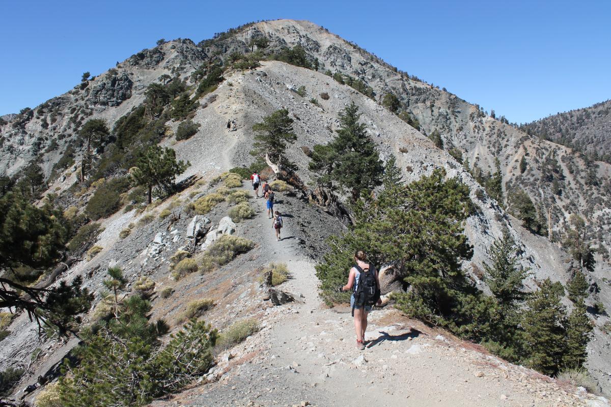 Extreme Hiking Hiking Mount Baldy San Bernardino