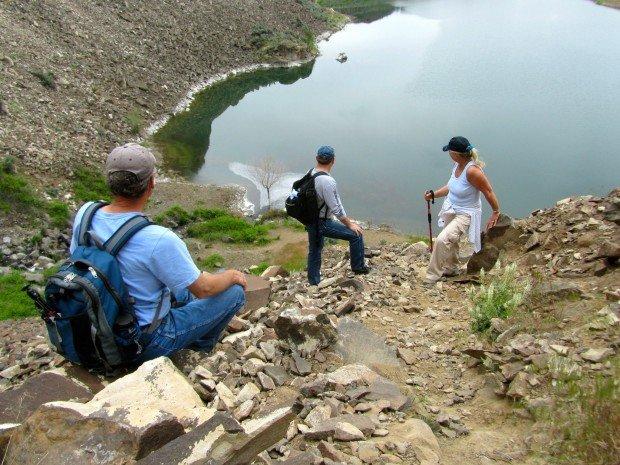 """Hiking Ancient Lakes Trail"""