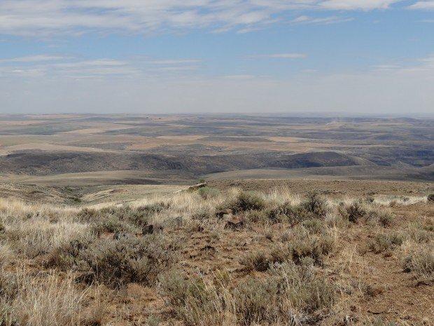 """Hiking Beezley Hills Preserve Route"""
