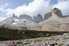 Las Torres Circuit Trail, Torres del Paine