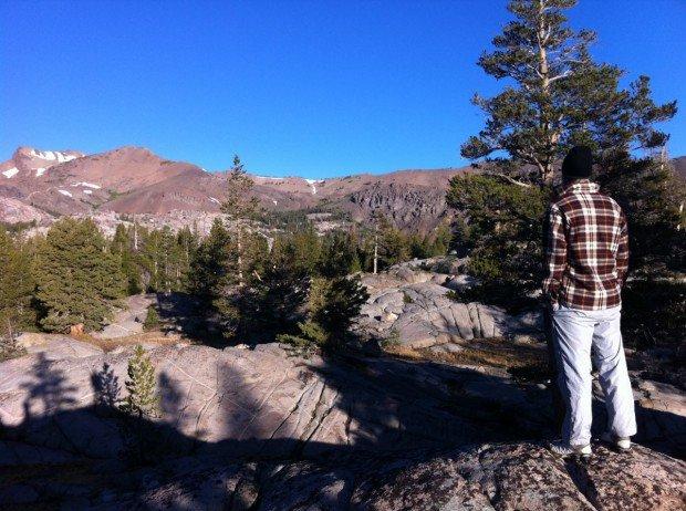 """Hiking at Leavitt Meadow"""