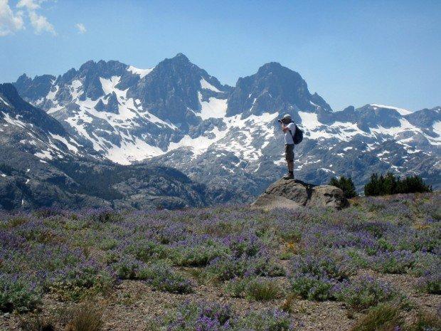 """""""Hiking at Mammoth Lakes"""""""