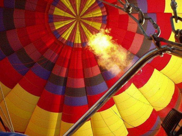 """""""Hot Air Ballooning at Mammoth Lakes"""""""