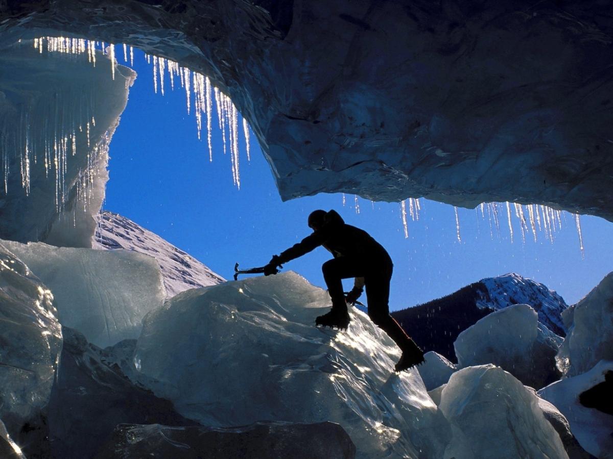 """""""Ice Climbing Glacier Zapata"""""""