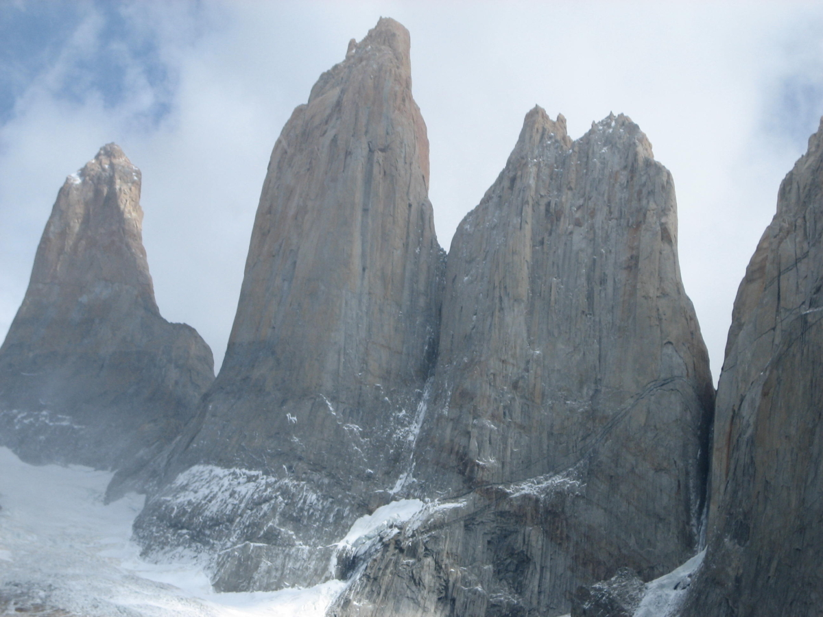 Ice Climbing Torres Central Climb Torres Del Paine
