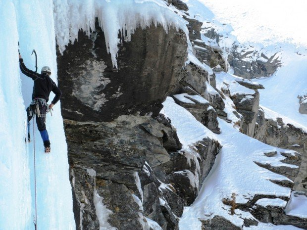 """""""Ice Climbing at Queenstown"""""""