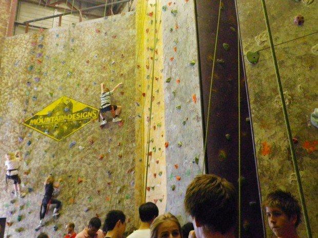 """Indoor Rock Climbing at Vertical Reality"""