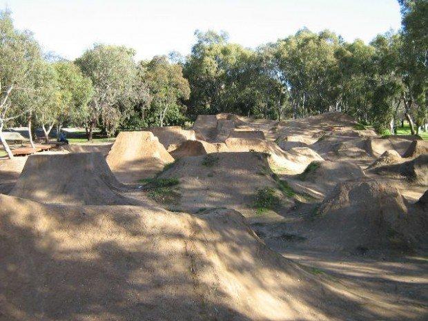 """""""Jumps at Kurrangga Park BMX Track"""""""