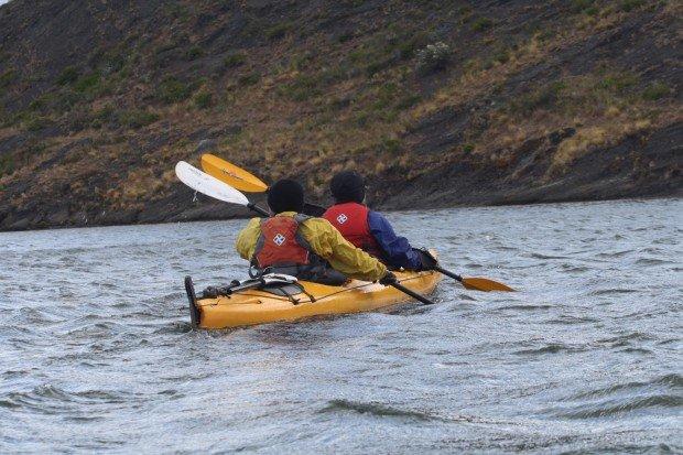 """Kayaking Eberhard Fjord"""
