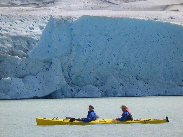 """Kayaking Tyndall Glacier"""