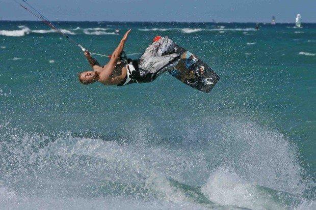 """Kitesurfing Lanes Beach"""