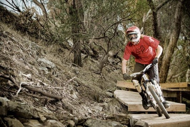 """MTB Freeride at Lynton Trails"""