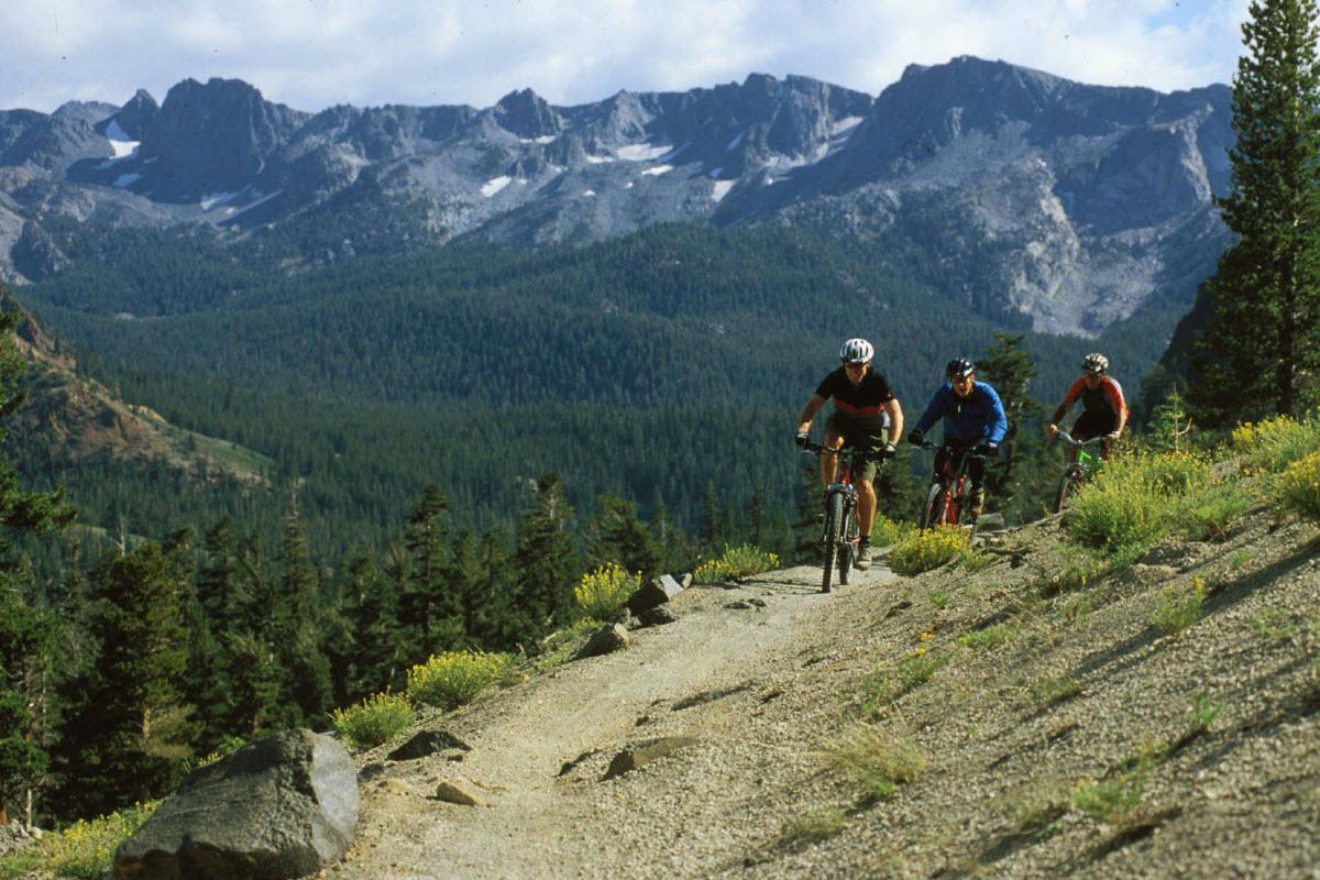 Mountain Biking Mammoth Mountain Yosemite National Park ...