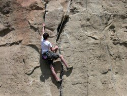Midnight Rock Climb, Wenatchee