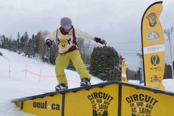 """""""Mont Lac-Vert Snowboarder"""""""