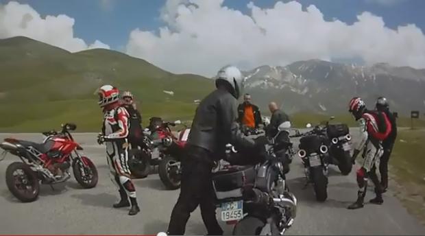 """Motorcycling from Teramo to Laga mountain"""
