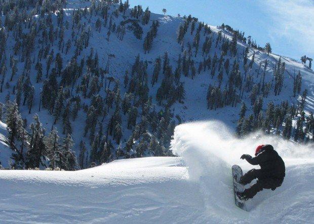 """Mount Baldy Snowboarding"""
