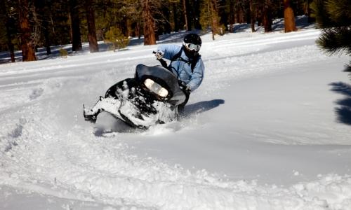 """""""Mount Hood Skibowl, Snowmobiling"""""""