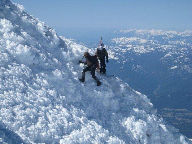 """Mount Shasta Ice Climbers"""