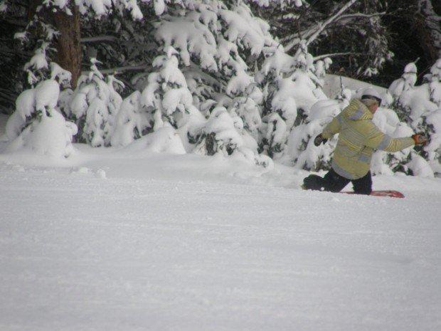 """Mount Shasta Ski Park Snowboarding"""